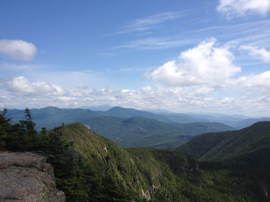 The White Mountains viewed from Mt. Osceola